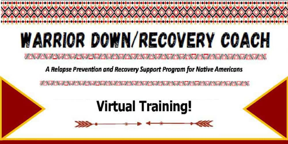 Warrior Down / Recovery Coach (October 26-29, 2021) – 4 Day Virtual Zoom Training
